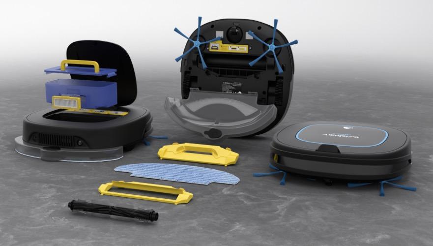 tests electro maison robot aspirateur laveur sweepy. Black Bedroom Furniture Sets. Home Design Ideas